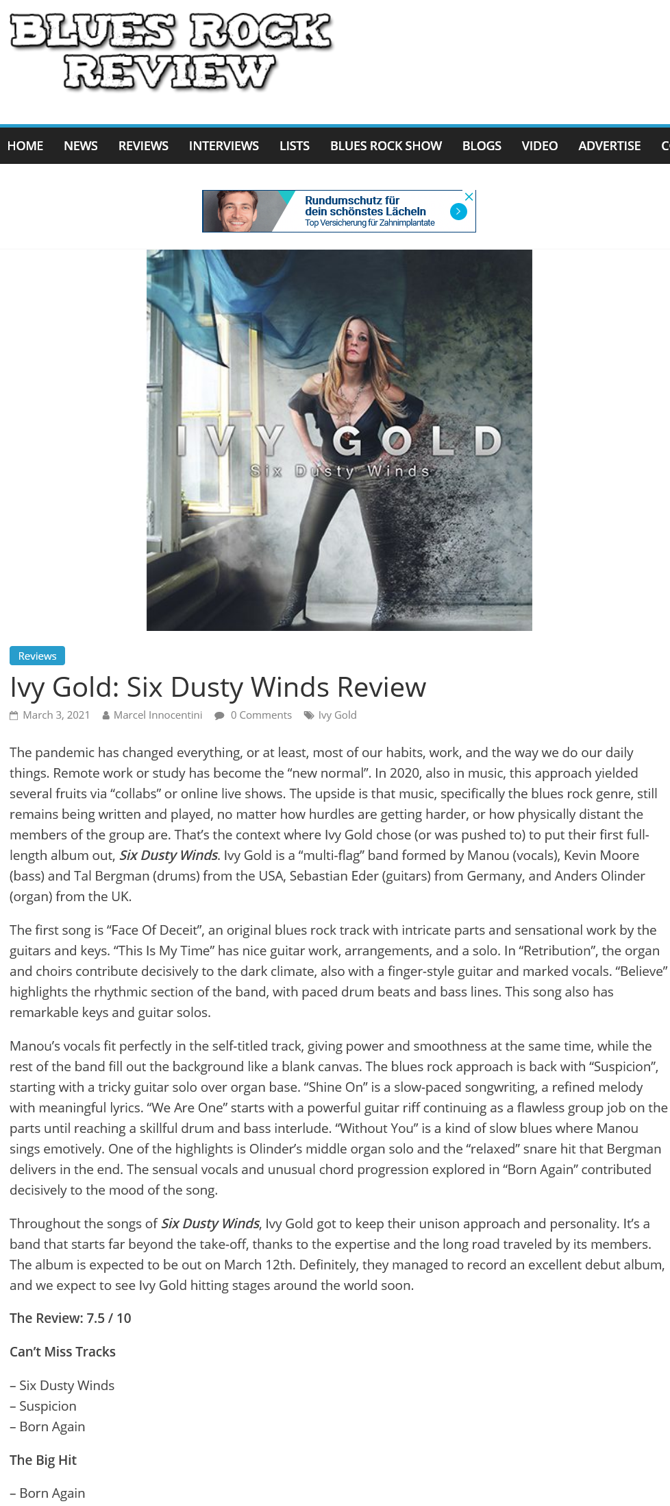 BluesRockReview.com, USA (click for the review)